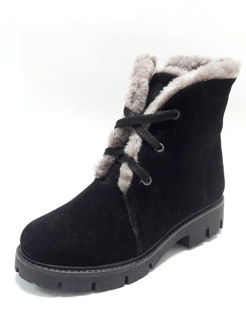 Ботинки черные Tops 4549289