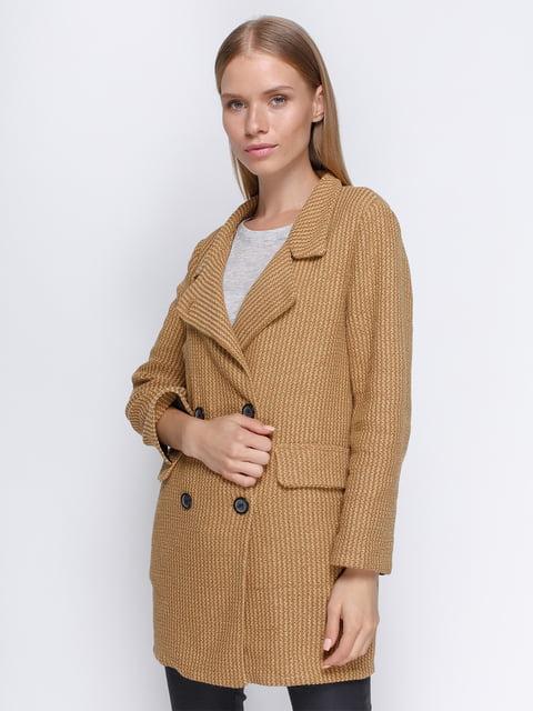 Пальто коричневое Zara 4509680