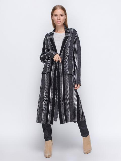 Пальто в полоску Zara 4509734