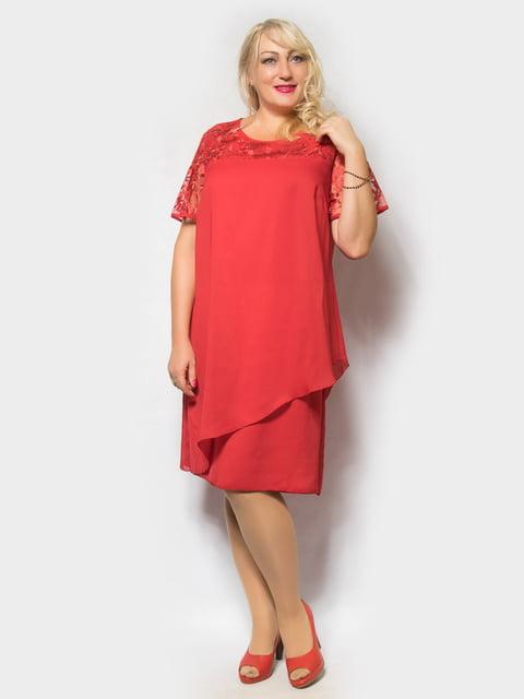 Платье красное LibeAmore 4556431