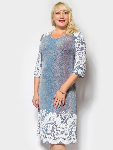 Сукня блакитна LibeAmore 4556434