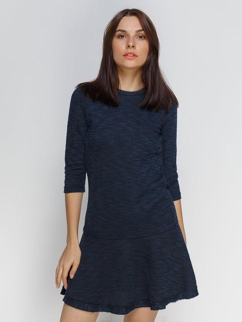 Сукня темно-синя Stradivarius 4507256