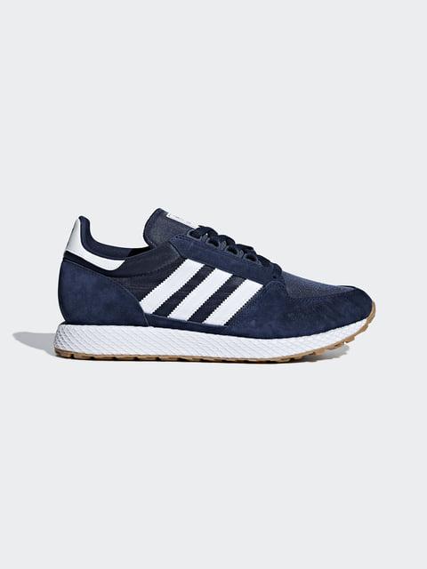 Кроссовки синие Adidas Originals 4539437