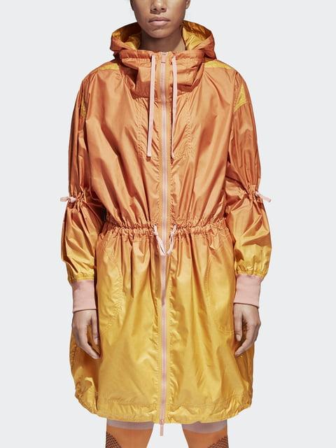Плащ желто-оранжевый Adidas 4528182