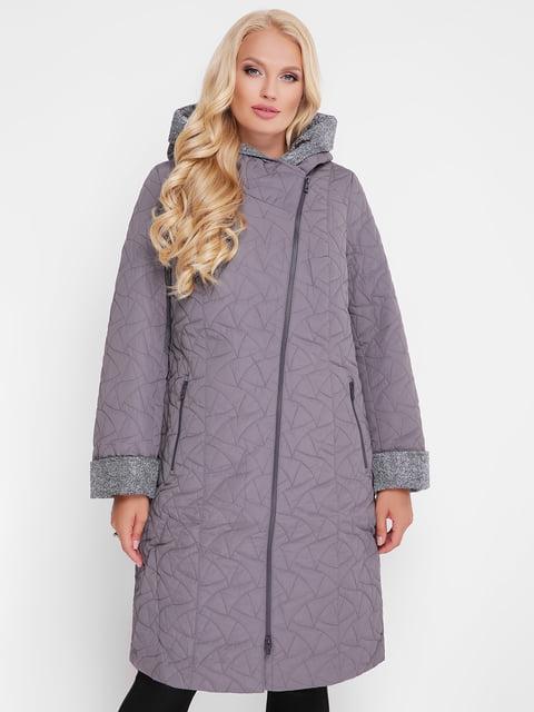 Пальто сіре WELLTRE 4559434
