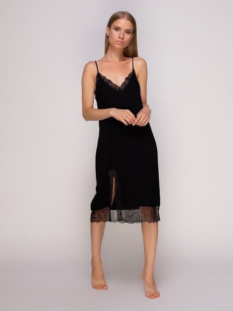 Сукня чорна Oysho 4506094