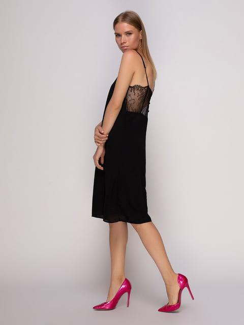Платье черное Oysho 4506093