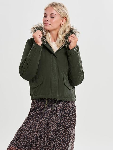 Куртка зелена Only 4561448