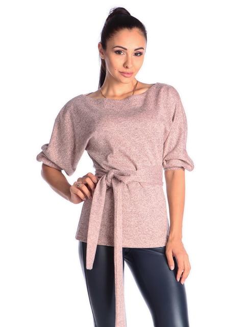 Блуза пудрового кольору Laura Bettini 4563163