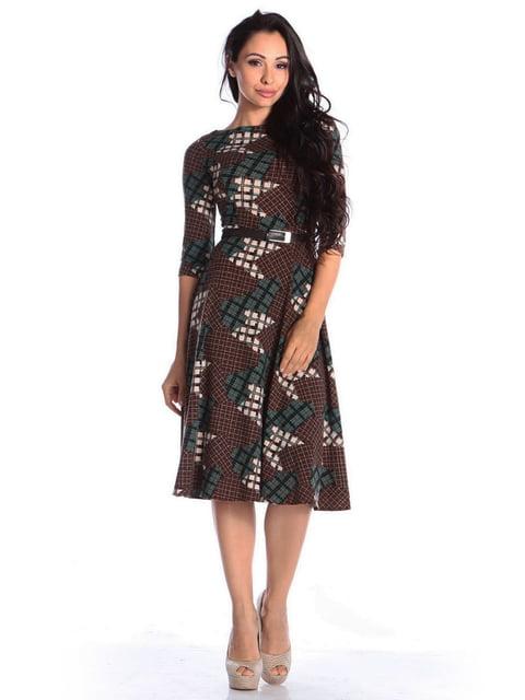 Сукня в принт Laura Bettini 4563295