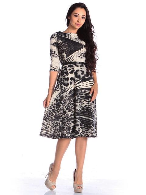 Сукня в принт Laura Bettini 4563296