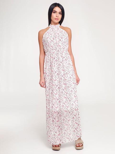 Платье белое в принт Favoritti 4463723
