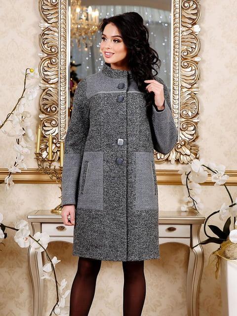 Пальто темно-сіре Favoritti 4498662