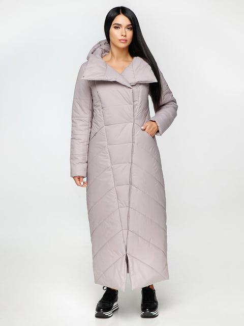 Пальто сіре Favoritti 4531166