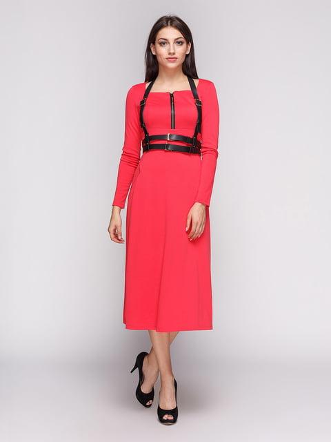 Платье коралловое LILA KASS 3683580