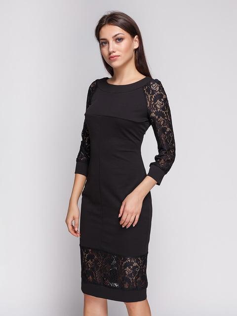 Платье черное LILA KASS 3813885