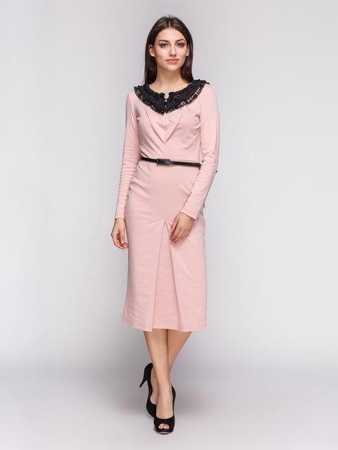 Платье цвета пудры LILA KASS 3621894
