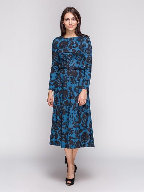 Платье в цветочный принт LILA KASS 3724314