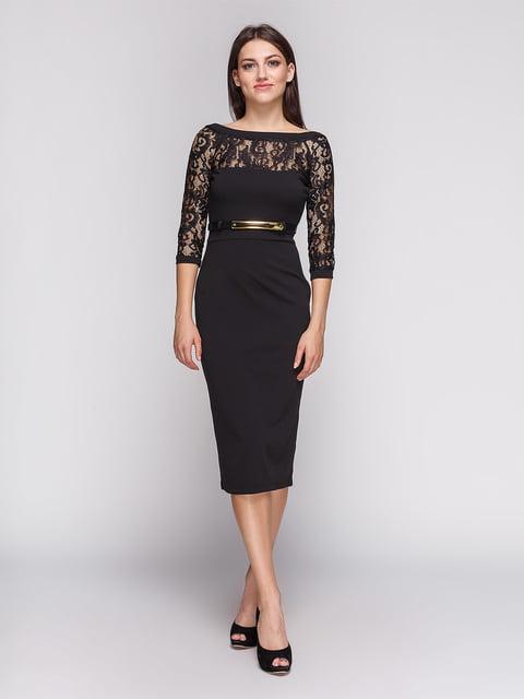 Платье черное LILA KASS 3851931
