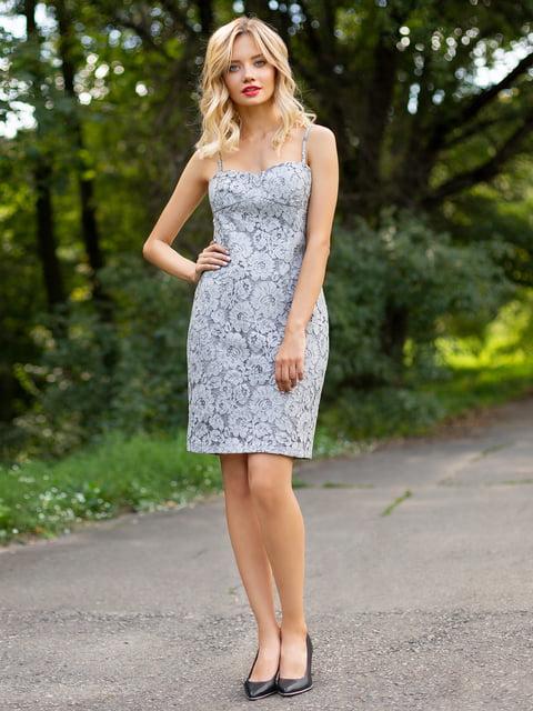 Сукня сіра Atelier private 3255726