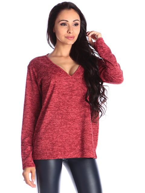 Пуловер червоний Laura Bettini 4579687