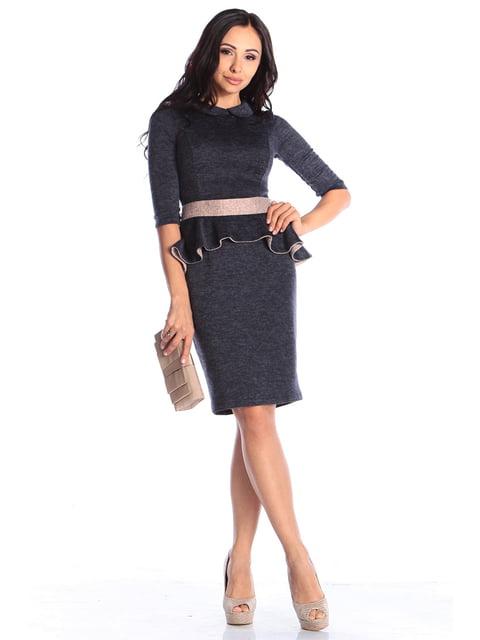 Сукня темно-синя Laura Bettini 4579712