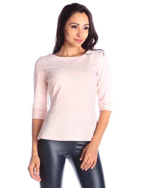 Блуза персикового кольору Laura Bettini 4579725