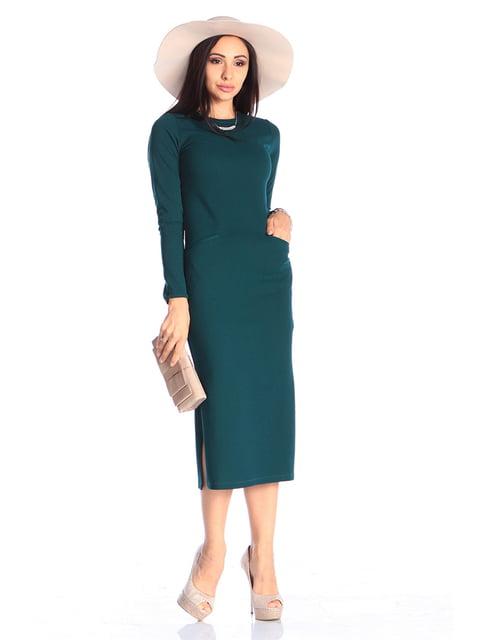 Платье темно-изумрудного цвета Laura Bettini 4579732