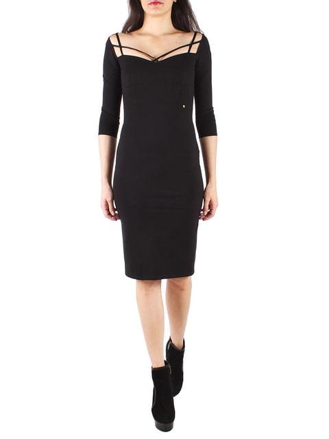 Сукня чорна Sexy Woman 4577279