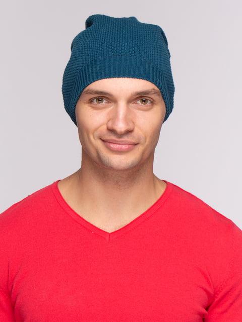 Шапка синя Zara 4507862