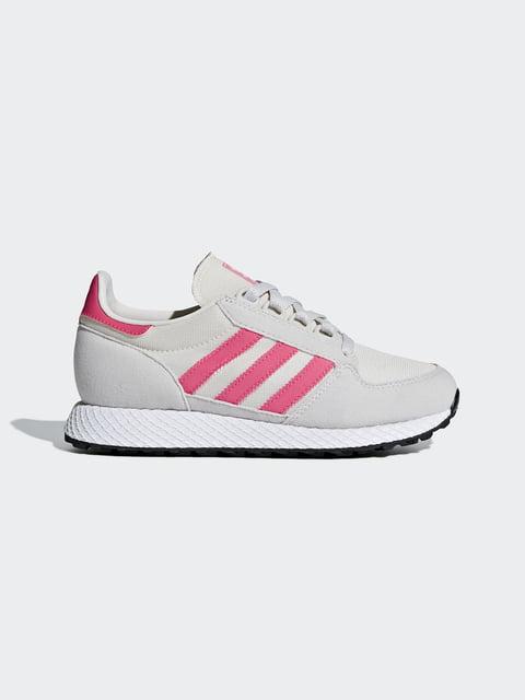 Кроссовки розово-белые Adidas 4458829