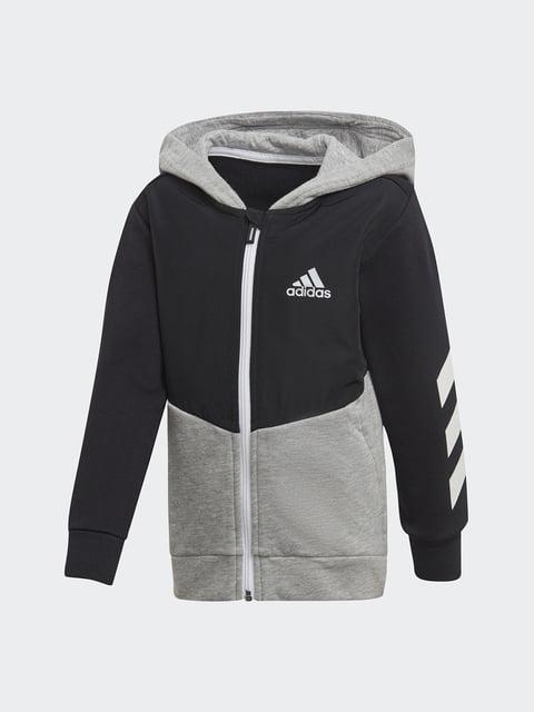 Кофта серо-черная Adidas 4556806