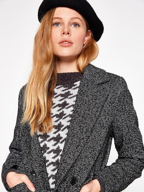 Пальто черное Koton 4583418