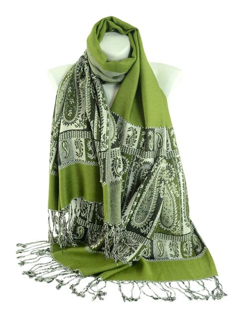 Шаль зеленая Traum 4582235