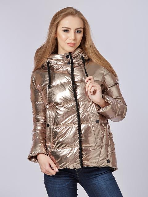 Куртка золотиста Mila Nova 4587969