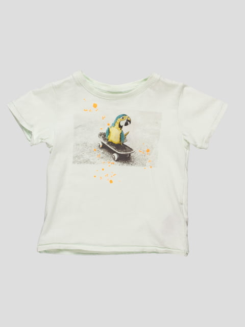 Футболка салатова Zara Kids 4521340