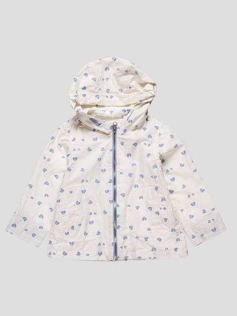 Куртка белая в принт Zara Kids 4524162