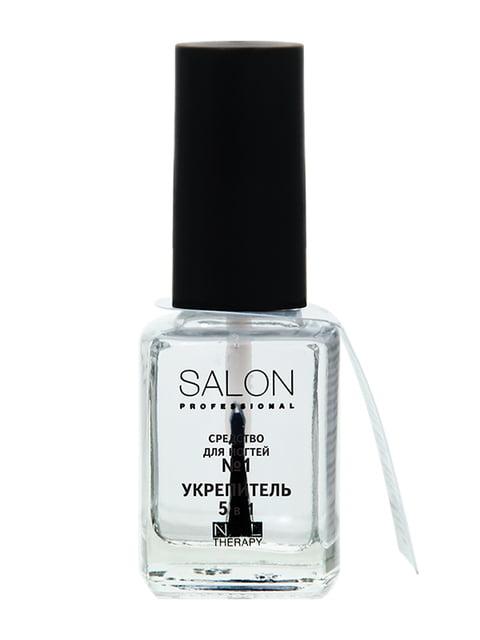 Засіб для нігтів №1 «Зміцнювач 5 в 1» (12 мл) Salon 4588335