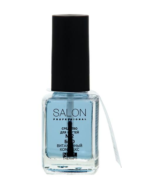Засіб для нігтів №2 «Біовітамінний комплекс» (12 мл) Salon 4588336