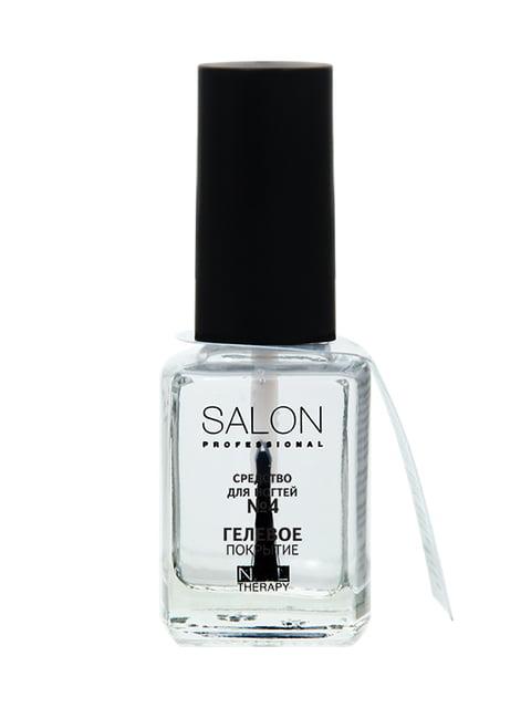 Засіб для нігтів №4 «Гелеве покриття» (12 мл) Salon 4588338