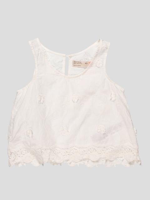 Топ білий Zara Kids 4520379