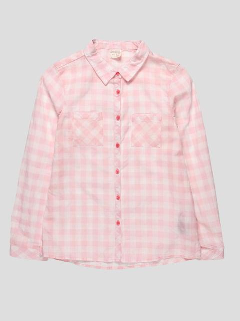 Сорочка рожева в клітинку Zara Kids 4518908