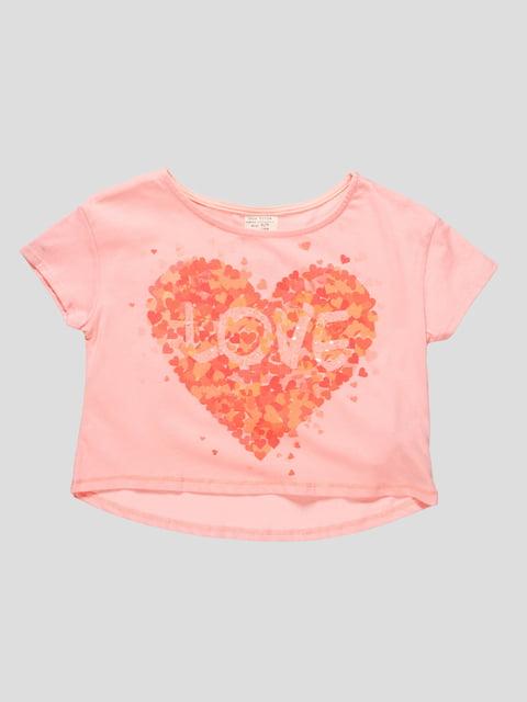 Футболка рожева Zara Kids 4531790