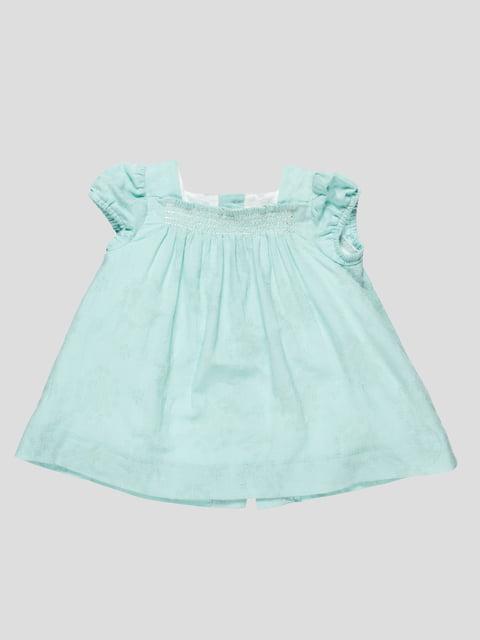 Платье цвета мяты Zara Kids 4534541