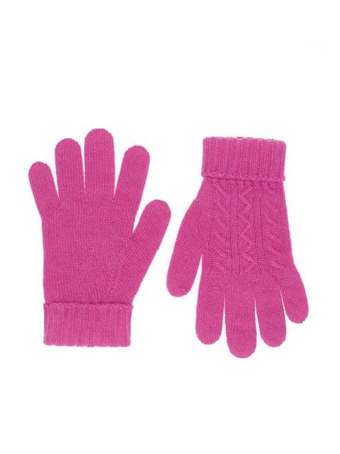 Рукавички рожеві Benetton 4428029