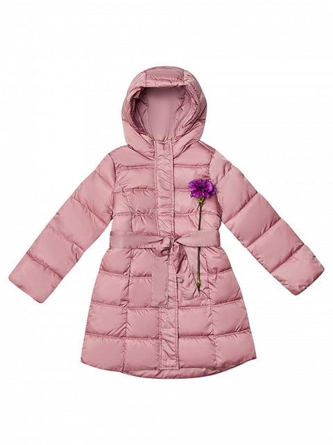 Пальто розовое Benetton 4523800