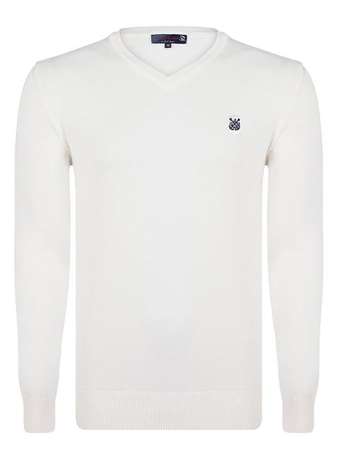 Пуловер молочного кольору Giorgio di Mare 4489265