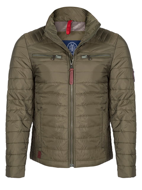 Куртка кольору хакі Giorgio di Mare 4592762
