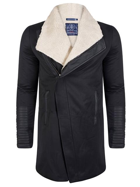 Пальто черное Giorgio di Mare 4592765