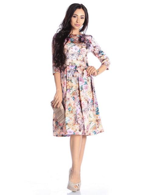 Сукня в квітковий принт Laura Bettini 4592265